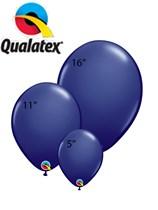Qualatex Navy Latex Balloons