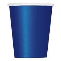 Value Pack True Navy Blue 9oz Paper Cups 14pk
