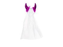 Hen Night Devil Headband With Fur And Veil