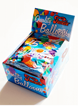 30 Retail Packs of 15 Latex Balloons