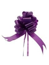 50mm Purple Pull Bows 20pk