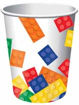 Block Party Paper Cups 8pk