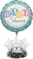 Baby Shower Air Fill Balloon Centrepiece Kit