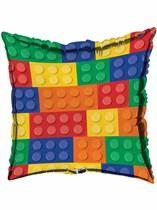 "Block Party Square 18"" Foil Balloon"