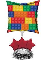 Block Party Balloon Centrepiece Kit