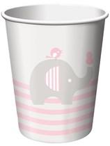 Little Peanut Baby Girl Paper Cups 8pk