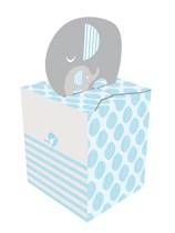 Little Peanut Baby Boy Favour Boxes 8pk