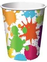 Art Party Paper Cups 8pk