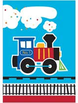 All Aboard Train Party Bags 8pk