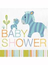 Happy Jungle Baby Shower Luncheon Napkins 16pk