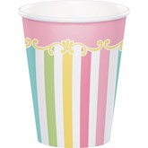 Carousel Baby Shower 9oz Paper Cups 8pk