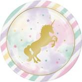 Unicorn Sparkle 23cm Paper Dinner Plates 8pk