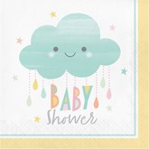 Sunshine Baby Showers Lunch Napkins 16pk