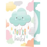 Sunshine Baby Showers Invitations & Envelopes 8pk