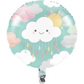 "Sunshine Baby Showers 18"" Foil Balloon"
