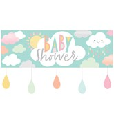 Sunshine Baby Showers Giant Banner & Attachments