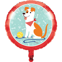"Dog Party 18"" Foil Balloon"