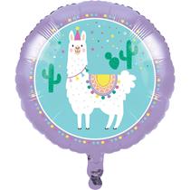 "Llama Party 18"" Foil Balloon"