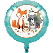 "Woodland Animals 18"" Foil Balloon"