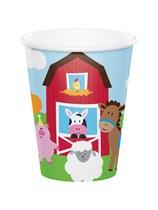 Farmhouse Fun Paper 9oz Cups 8pk