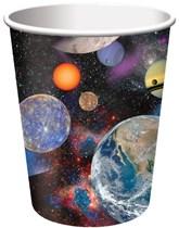 Space Blast Paper Cups 8pk