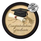 Congratulations Graduate Paper Plates 8pk