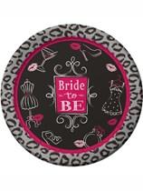 Bridal Bash Paper Plates 8pk