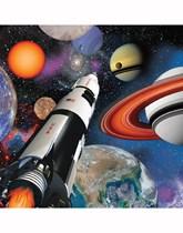 Space Blast Luncheon Napkins 16pk