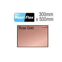 Rose Gold Pearl Flex Garment Vinyl Sheet 300mm x 500mm