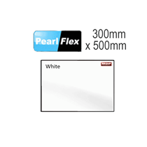 White Pearl Flex Garment Vinyl Sheet 300mm x 500mm