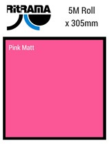 Ritrama Pink Matt Vinyl 305mm x 5M