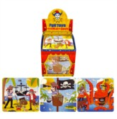 Pirate Jigsaw Party Bag Favours - 108pk