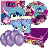 Furby Bonus Party Pack for 16 people - 10 FREE BALLOONS