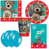 Little Charley Bear Bonus Party Pack for 8 people - 10 FREE BALLOONS