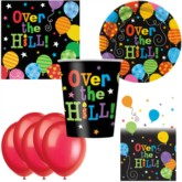 Over the Hill Bonus Party Pack for 8 people - 10 FREE BALLOONS
