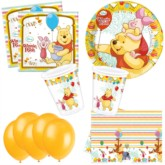 Winnie the Pooh Bonus Party Pack for 8 people - 10 FREE BALLOONS
