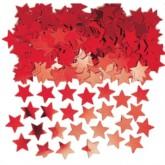 Red Star Metallic Confetti 14g
