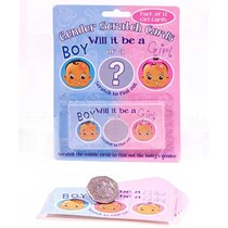 Gender Reveal Girl Scratch Cards