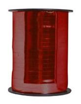 Red Metallic Balloon Ribbon 250m