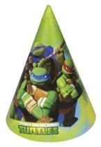 Teenage Mutant Ninja Turtles Party Hats - 6pk