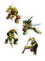 Teenage Mutant Ninja Turtles Figurine Candles - 4pk