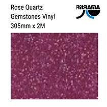 Gemstones Rose Pink Vinyl 305mm x 1M