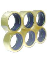 Ultratape Clear Tape 45mm x 40m - 6pk