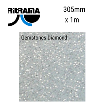 Gemstones Diamond Vinyl 305mm x 1M