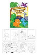 Mini Dinosaur Puzzle Book 48pk