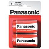 Panasonic D Batteries 2pk