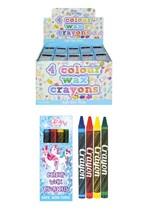 Unicorn Wax Crayons 120 Packs