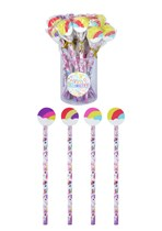 Unicorn Pencils With Eraser 24pk
