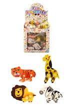 Jungle Animal Eraser Party Bag Favours - 84pk
