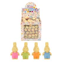 Rabbit erasers party bag filler favours 96 pack